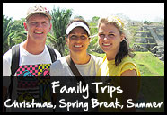 Family Trips - Direct Christian Impact Mission Trips to Belize, Guatamala, Caribbean and Mayan Yucatan